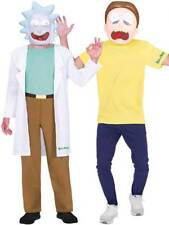 Adults Rick and Morty Costumes Fancy Dress Mens Halloween Cartoon Sanchez Smith