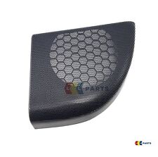 NEW GENUINE MERCEDES-BENZ C COUPE W203 O/S RIGHT BLACK DOOR SPEAKER COVER