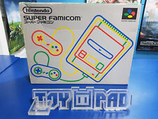 Console Super Famicom boxed - Japan JAP - Super Nintendo NES - boxed
