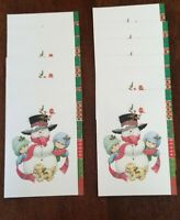 Snowman Kids Puppy Ruth Bill Morehead Collection Christmas Cards 12 NEW Current