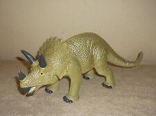 "Vintage 1997 Jasman Dinosaurs LG 14"" Triceratops"