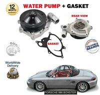 FOR PORSCHE BOXSTER 986 M96.20 M96.22 M96.21 1996 > NEW WATER PUMP + GASKET KIT
