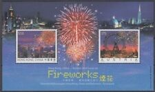 HONG KONG 2006 FIREWORKS JOINT ISSUE AUSTRIA MINI SHEET MINT (ID:809/D54817)