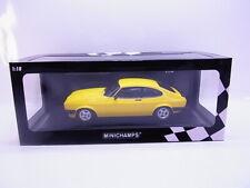 64415 Minichamps 155 788601 Ford Capri 3.0 1978 gelb Modellauto 1:18 NEU in OVP