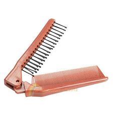 Pro Salon Anti-Static Combing Folding Hairdressing Hair Brush Comb New