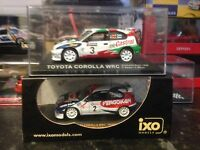IXO Toyota Corollas X2 Rally Car Collection WRC 1/43 Mint