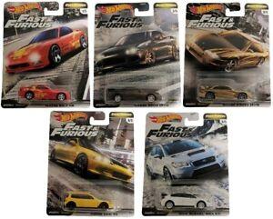 Mattel Hot Wheels The Fast and Furious Premium Edition Rennautos Cars (Auswahl)