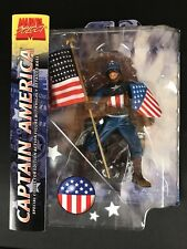 Marvel Select, Captain America, Ultimate Version, Diamond Select Toy, Rare, New