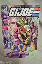 IDW JOECON #212 EXCLUSIVE G.I. JOE COLD SLITHER & JEM AND THE HOLOGRAMS COMIC
