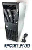HP Z600 Workstation Quad Core Xeon X5570 2.93GHz 500GB SSD 8GB RAM Vista COA