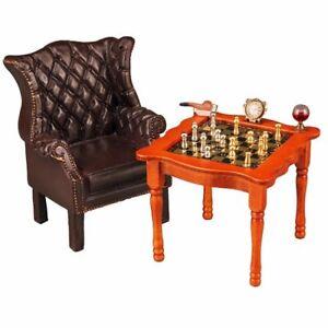 Reutter Porcelain - Dollhouse Miniature Chess Table
