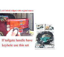 Central Locking Tailgate Lock unlock by remote For FORD PX RANGER T6 12+ Keyhole