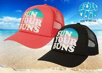 New Billabong Sun Your Buns Women's Snapback Trucker Cap Hat