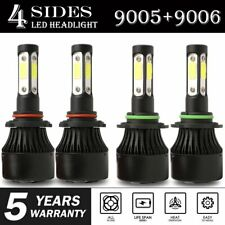 Combo 9005 9006 LED Headlight Bulb for Chevrolet Tahoe 1995-2006 High Low Beam