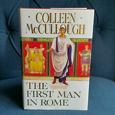 *1st Edition, 1st Print* U.K version, First Man in Rome, Colleen McCullough MINT