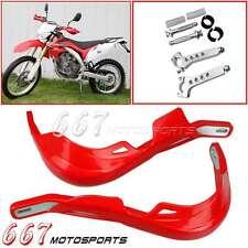 Red Motorcycle Handguards Dirtbike Hand Guards Brush Guards Handlebar 7//8 1 1//8 For Honda CRF70F CRF250R CRF250X CRF250L CRF450R CRF450X CR250R CR CRF Universal