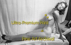 IRISH MCCALLA Busty '50s Pinup Girl ** Premium PRO ARCHIVAL Photo (8.5x11)