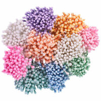 Heartfelt Creations Pastel Pearl Stamens Small Paper Flowers