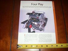 ECOTECH 800 H.P. CHEVROLET RACE ENGINE - ORIGINAL 2012 ARTICLE