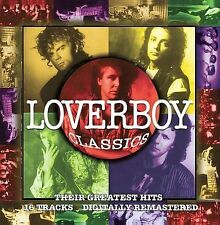 LOVERBOY--Classics-Their Greatest Hits--CD--16 Songs