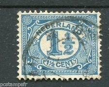 PAYS-BAS - 1899-1913, timbre CLASSIQUE 67, CHIFFRE, oblitéré