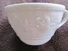 Wedgwood Home Festivity - 2 Coffee/Tea Cups with Raised Fruit Pattern