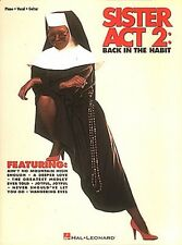 Sister Act 2 Sheet Music Piano Vocal Guitar Songbook NEW 000312497