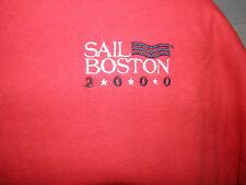 Sail Boston Logo 2000 T-Shirt Size L (NWOT)