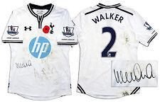 Kyle Walker Match Worn Tottenham Hotspur Shirt COA