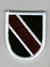 AIRBORNE BERET FLASH ARMY ACADEMY OF HEALTH SERVICES