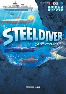 STEEL DIVER Official Game Guide Japan Book Nintendo 3DS