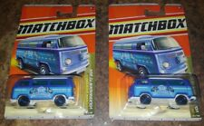 "2011 Matchbox Collector #75 "" Blue Horse"" VW Volkswagen T2 Buses! New!"