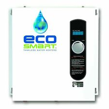 EcoSmart ECO 27 240V Electric Tankless Water Heater - White
