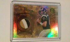 2011 Sam Bradford 3-Color Rams Panini GOLD Reserve Standard x/25 Jersey Card