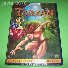 TARZAN CLASICO DISNEY NUMERO 37 NUEVO Y PRECINTADO EDICION ESPECIAL 2 DISCOS DVD