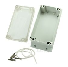 Waterproof Clear Plastic Electronic Project Box Enclosure Cover CASE 158x90x65mm