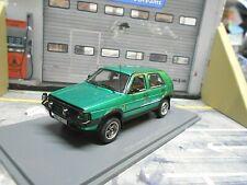 VW Volkswagen Golf MKII 2 Country 4x4 Montana grün met. 1990 NEO Resin RAR 1:43