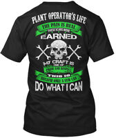 Plant Operator Pride And Respect - Operator's Life The Hanes Tagless Tee T-Shirt