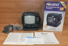 Genuine Memorex (MTO500) Analog Black & White Television W/ AM/FM Radio *READ*