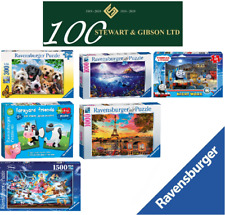 Ravensburger Puzzles with 500, 1000 or 1500+ pieces