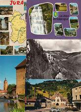 Lot 52 cartes postales de 1950 à 2000 JURA cartes diverses