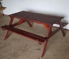 148 cm Wooden Picnic Bench / Garden Table