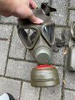 Militär Gasmaske Und Tasche