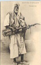 CP Algérie - Musicien noir - Soeurs Missionnaires N.-D. d'Afrique