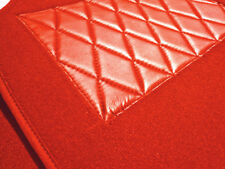 Kompl. Teppichsatz für Alfa Romeo Bertone GT 1970-1976 Velour Ferrarirot