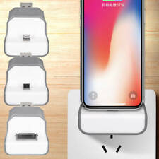 Sync Charging Dock Stand Wall Charger Station Cradle For iPhone X 7 4 Samsung S7