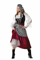 Pirate's Wench Elite Collection Womens Adult Costume Petticoat Vest Halloween
