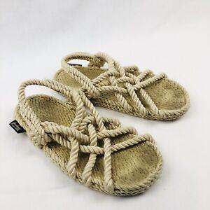 Gurkees Barbados Mens 8 Womens 9.5 Rope Sandals