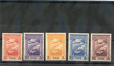 TIMOR Sc C1-5(SG 270-4)**F-VF NH 1938 1A-10A AIR POST ISSUES $30
