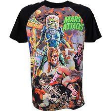 Kreepsville 666 Mens Mars Attacks Sin City Skinner T Shirt X Large